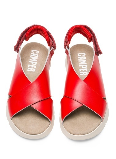 Camper Sandalet Kırmızı